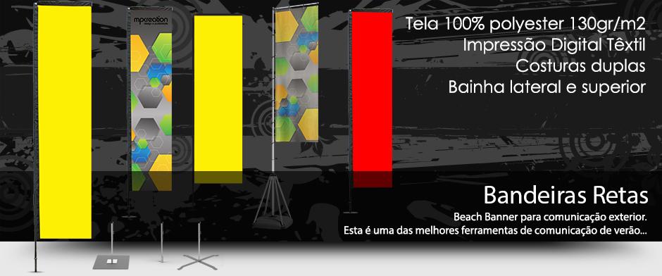 Bandeiras Retas