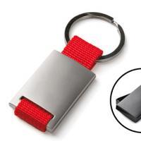 Porta-chaves rectangular em Metal