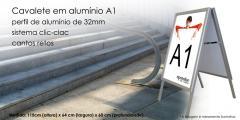 Cavalete em Alumínio A1