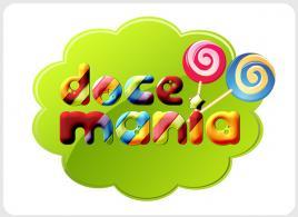 Design da marca logótipo doce-mania