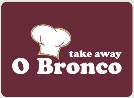 DESIGN DA MARCA / LOGÓTIPO O BRONCO - TAKE AWAY