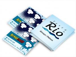 Design e fornecimento de cartões de bonus em cartolina couché mate 300 grs. com laminação mate