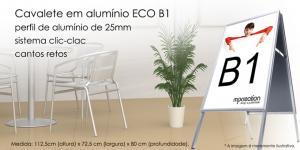 Cavalete em Alumínio ECO B1