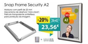 MOLDURA SNAP SECURITY25 CANTOS RETOS A2