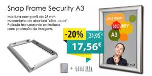MOLDURA SNAP SECURITY25 CANTOS RETOS A3
