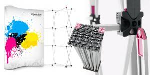 Pop-Up E-Magnético 3x3 Curvo