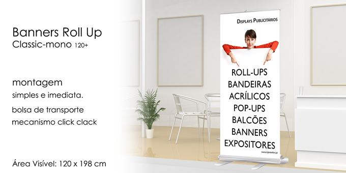 Roll Up Classic mono 120