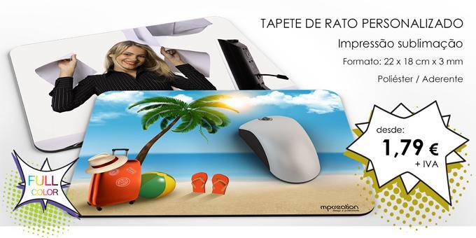 Tapete de Rato Personalizado - 3mm